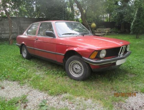 BMW 316 , v.a 1982.a liikluskindlustusjuhtum