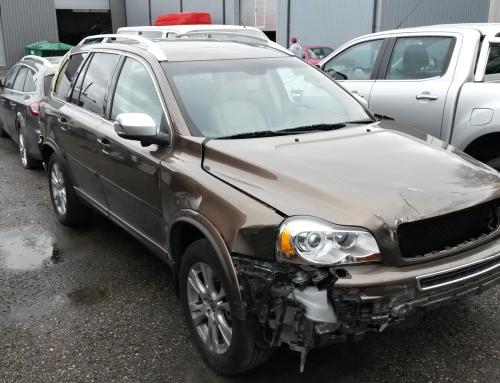 Volvo XC90, v.a. 2013, liikluskindlustusjuhtum