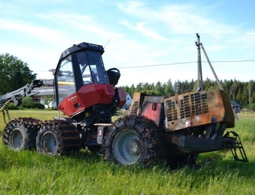 Harvester Valmet 911 turuväärtuse hindamine