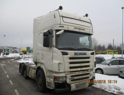 Scania R580, 2005.a , hindamisekspertiis
